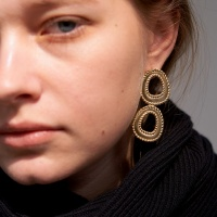 double knitting earring