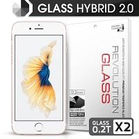 [프로텍트엠] 레볼루션글라스 하이브리드2.0 강화유리 방탄액정보호필름 아이폰6S플러스/6플러스 iPhone6S Plus/6 Plus 5.5인치