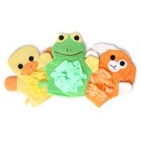 개구리와 친구들 샤워 타월 장갑