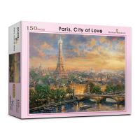 150피스 사랑의 도시 파리 직소퍼즐 PL150-30
