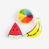 [인디고샵] 보기만 해도 상큼해지는 과일 아크릴 뱃지