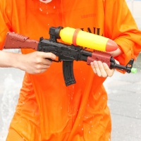 워터건물총 AK47