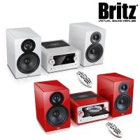 브리츠 진공관 블루투스 오디오 스피커 BZ-TM780 Vacuum Audio (CD 플레이어 & USB메모리 재생 / FM 라디오 / 알람 / AUX 단자)