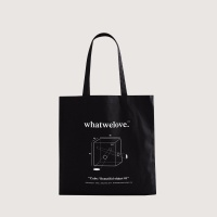 WWL MarketBag Object001 Cube-Black