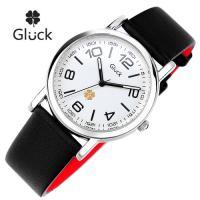 [Gluck]글륵 행운의 시계 GL600-SVBK 남여공용 본사정품
