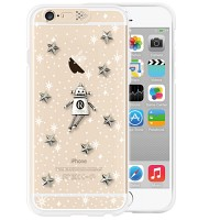i-phone 6 Clear Space robot (Vintage)