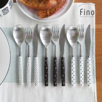 [마호커트러리]피노 성인용 양식기 3종세트(양식숟가락+포크+나이프) 5개