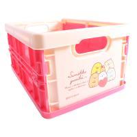 스미코구라시 접이식상자 핑크 (S) 수납 컨테이너
