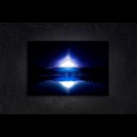 [LED 캔버스 조명액자] 설산의 야경