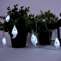 어반 LED 할로윈 장식 소품 유령 가랜드 무드등 10P