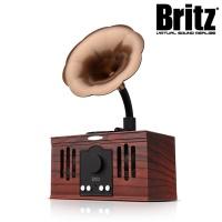 브리츠 원목 엔틱디자인 블루투스 스피커 BA-MK3 (7W 고출력 / FM라디오 / 핸즈프리 통화)