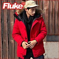[플루크 패딩] 아라라트 리얼라쿤 헤비 야상 패딩 점퍼 레드 FPJ1506-RED FLUKE 15FW