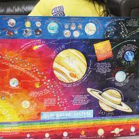 태양계 100피스 퍼즐 (5세이상, 47X69cm)