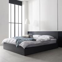 아르메 에이든 평상형 침대 Q_밸런스 독립라텍스매트