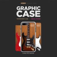아이폰7PLUS 그래픽 케이스 - 기타(Stratocaster)