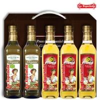 [에스파놀라]올리브유 2병+포도씨유 3병 선물세트