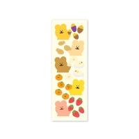 [한톨상점]반곰이의 겨울간식 씰스티커