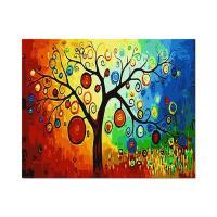 [ALB] DIY유화그리기 행복나무 [a40_14]