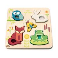 [무료배송][텐더리프]퍼즐리아 촉감동물 퍼즐