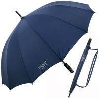 보그 14K 스트랩 빅 자동 장우산 - 네이비