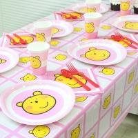 파티테이블셋팅패키지(6인용)-핑크베어