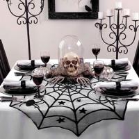 [인디고샵] 할로윈 거미줄 테이블 데코 천