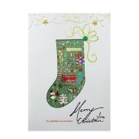 크리스마스카드/성탄절/트리/산타 x-mas 소원양말 card (FS201-3)