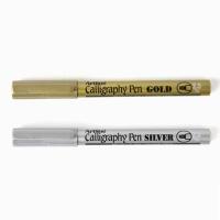[ARTLINE] 캘리그라피 펜 2.5mm (골드/실버)