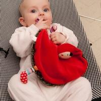[에불로보] 프랑스 애착인형 울프와 빨간두건쓴 소녀