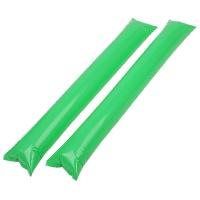 응원용 팡팡막대풍선-라임그린(100쌍)