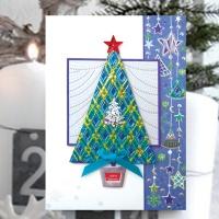 크리스마스카드/성탄절/트리/산타 청츄리 크리스마스카드 FS1025-4