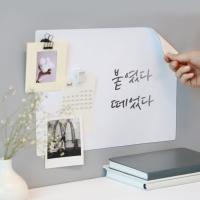[마그네틱 보드] 붙이는 화이트보드 MINI/LARGE
