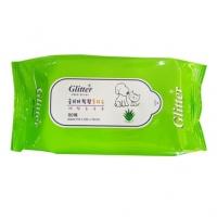 Glitter Wet Tissue 항균 물티슈 80매 (bn)