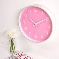 러블리벽시계(핑크)