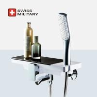 스위스밀리터리 선반형 샤워수전 (샤워기거치 일체형)