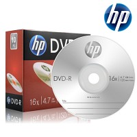 HP 공DVD-R 4.7GB 16x 슬림 케이스 10장