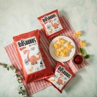 바이오사우르스 유기농옥수수스낵 케첩맛 멀티팩