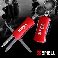 [스피엘 SP-L01] 6가지기능 다용도멀티툴/맥가이버칼/캠핑/등산/낚시용품/열쇠고리/다용도칼/주머니칼