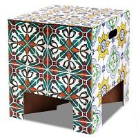 [원더스토어] 더치 디자인 북유럽 스툴 의자 테이블 Tiles