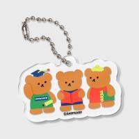 [11.08 예약발송]Smart bear friends(키링)