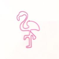 플라밍고 핑크 클립 10p