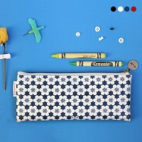 D.LAB Nflower pattern pencilcase - 4 type