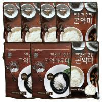 [패키지]곤약쌀200g 5봉 곤약파우더150g 2봉