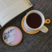마블 타일 컵받침/코스터 통코르크