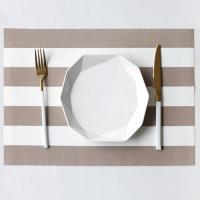 빅 스트라이프 테이블 매트 1개(색상랜덤)
