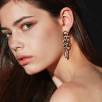 plaite rope earring
