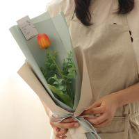 망고튤립 한송이꽃다발 [3color]