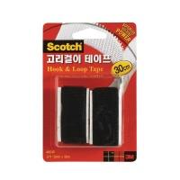 3M 스카치 고리걸이 테이프 30cm 블랙[00360116]