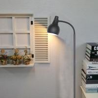 [LAMPDA]스프링플로어 장스탠드 (블랙)