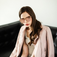DORIS RT C4007 C2 핑크 미러 패션선글라스 편광렌즈